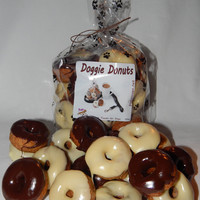Doggie Donuts Gourmet Dog Treats 15oz bag