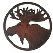 Trivet from Recycled Glass - Moose