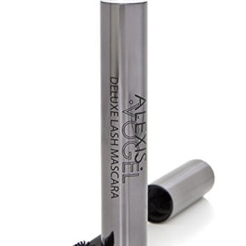 Best Mascara to Add Length, Volume, and Curl to Eyelashes - Alexis Vogel Deluxe Lash Mascara: So Black - Gives the Impression of Eyelash Extensions - Perfect Finish to Eye Makeup - Can Also Be Used on Top of False Eyelashes