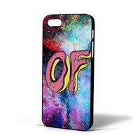 Ofwgkta of Odd Future Doughnut in Galaxy Nebula for Iphone Case (iPhone 5/5s black)