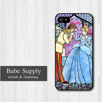 Cinderella iPhone 5 case, Disney iPhone 5 hard case, Princess cover skin case for iphone 5 (Hard / Rubber case for choice)