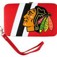 Chicago Blackhawks Shell Wristlet