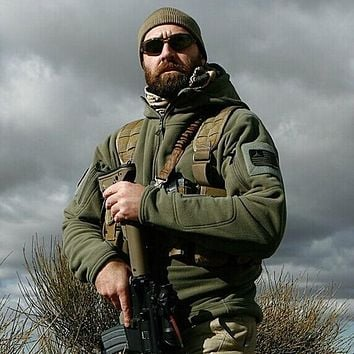 US Military Men Outdoors Warm Jacket
