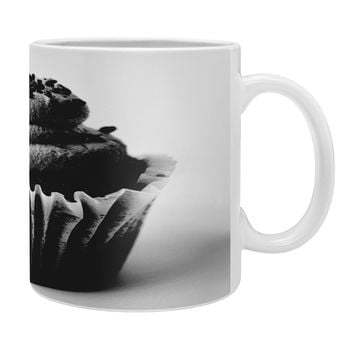 Allyson Johnson Black And White Cupcake Photograph Coffee Mug