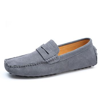High Quality Genuine Leather Soft Moccasins Shoes