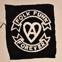 Folk Punk Forever Patch