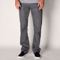 Volcom Frickin Modern Chino Mens Pants Charcoal Heather  In Sizes