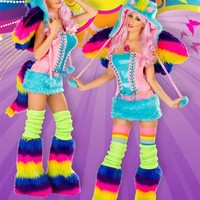 J. Valentine Rainbow Pony Outfit : Cute Sexy Rave Costumes from RaveReady