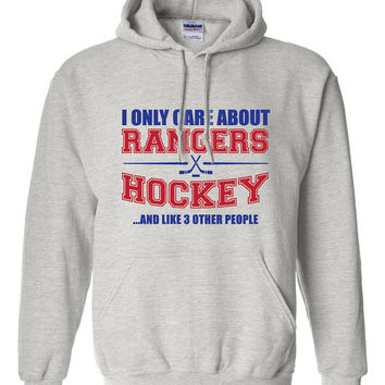 New York Rangers Hockey Sweater NHL Rangers Hockey Mens Birthday Gift Christmas Gift Ultimate Hockey Fan Custom Hoodie Team Pride BD-225