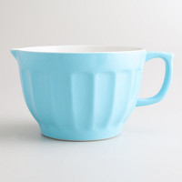 Large Blue Melamine Batter Bowl - World Market