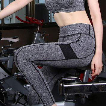 High Waist Stretched Leggings Fitness Pants Wear