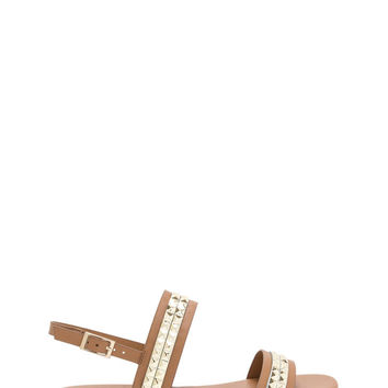 Grand Punk Strappy Faux Leather Sandals GoJane.com