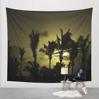 Sunset in Tropics Wall Tapestry by Zina Zinchik