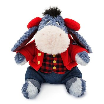 "Licensed cool 12"" Eeyore Holiday Plush ""Special Edition"" Christmas Holiday Disney Store 2017"