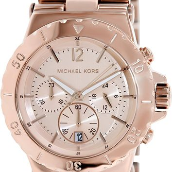 Michael Kors Women's MK5314 Classic Rose Gold-Tone Stainless Steel Watch