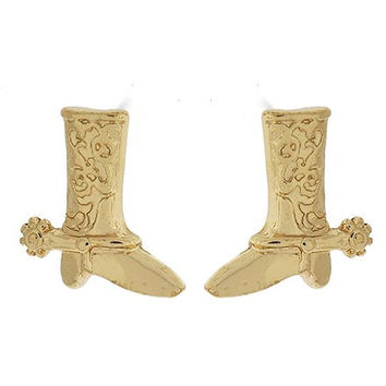 Gold Boot Studs