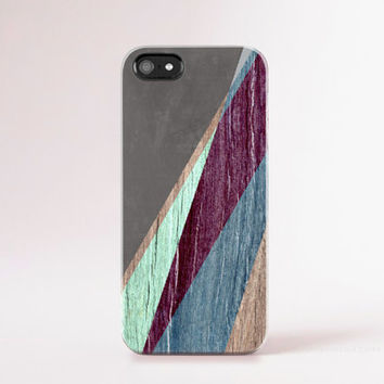 iPhone 6 Case Wood Print Teal iPhone 4 Case Burgundy Wood Print iphone 5 Case Teal iPhone5s Case Wood Galaxy S4 Case Mint Geometric Cases