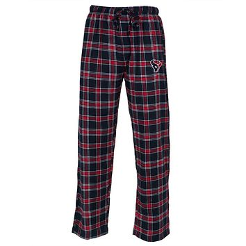 Houston Texans - Logo Plaid Lounge Pants