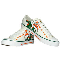 Miami Hurricanes Women's Oxford Lace-Up Shoes