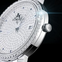 Men Diamond Mechanical Watch