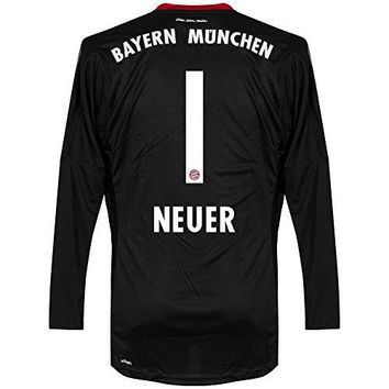 Bayern Munich Home Neuer Goalkeeper Jersey 2017 / 2018 (Official Printing)