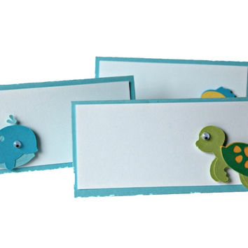 Under the Sea Party Name Tags