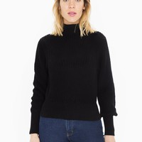 Women's Mock Neck Pullover | American Apparel
