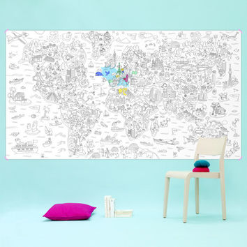 Giant Coloring Roll Posters - A+R Store