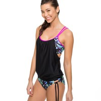 Power Thru It Double Up Tankini