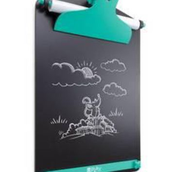 U Play Giant Clipboard Wall Easel with Premium Chalk Board Surface