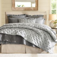 Isabelle Tufted Voile Quilt & Shams
