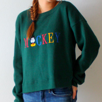 Vintage Mickey mouse retro disney sweatshirt