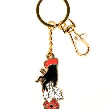 Flower Offering Keychain