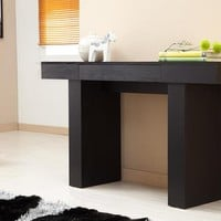 Sunart Modern Console Table in Black