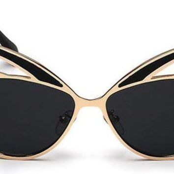 On The Prowl Shades- Black and Gold