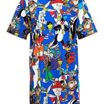 Looney Tunes T-Shirt Dress - MOSCHINO