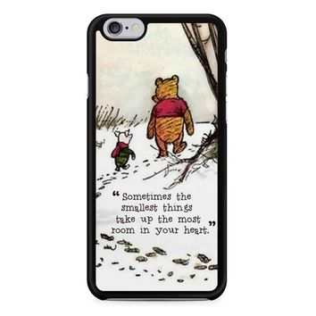Winnie The Pooh Quote 2 iPhone 6/6S Case