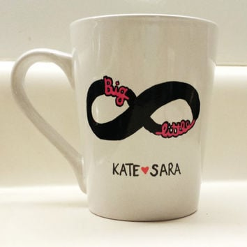 Big Little Infinity Forever Sorority Customized Mug