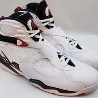 Nike Air Jordan 8 VIII Retro 305381-104 Alternate 1993 White Gym Red Size 18