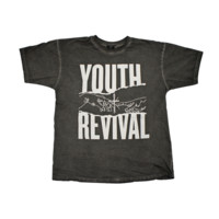 Y&F Black T-Shirt - Youth Revival