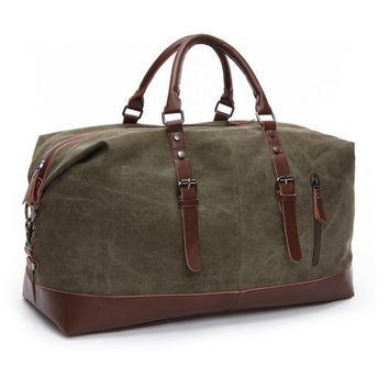 Vintage Military Style Large Capacity Travel Bag