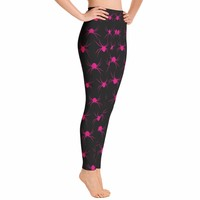 Pink Spider Leggings