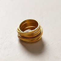 Coiled Brass Ring