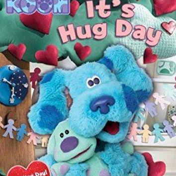 S-blue - BLUES CLUES-BLUES ROOM-ITS HUG DAY (DVD/FF)