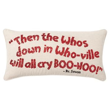 THE GRINCH™ PILLOW COVERS, WHOVILLE