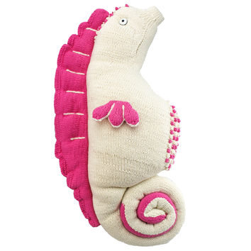 Seahorse (jumbo) Eco Friendly Plush Toys 100% Organic Cotton, Handmade With Love!