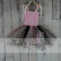 Camo Dress infant dress toddler dress pink camo tutu dress rustic dress