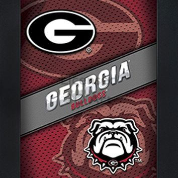 Georgia Bulldogs | 3D Art | By PFF | Framed | 3-D | Lenticular Artwork | NCAA Licensed