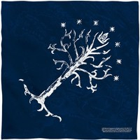 Lord Of The Rings Tree Of Gondor Bandana White