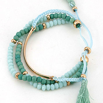 That Final Touch Tassel Bracelet Bundle